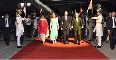 British Royal Couple lands in Islamabad on a maiden visit
