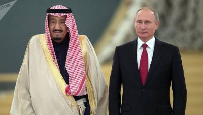 Russian President Vladimir Putin arrives in Saudi Arabia for a crucial visit