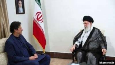 What message Iranian leadership gave for Saudi Arabia to Pakistani PM Imran Khan?