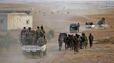 Turkish and Syrian Military dangerous faceoff in strategic city of Manbij