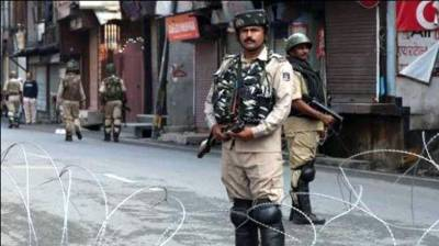 Indian Military further tightens the restrictions in Occupied Kashmir capital Srinagar