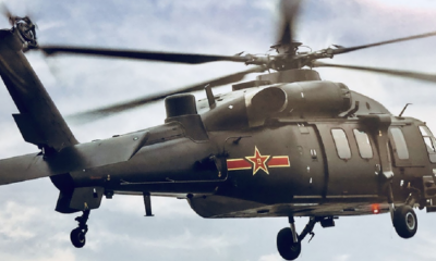Indigenous built state of the art Z - 20 Military helicopter unveiled