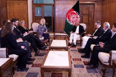 Top US diplomat held important meeting with Afghan President Ashraf Ghani in Kabul