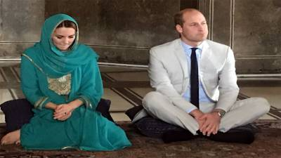 British Royal Couple activities in Lahore visit