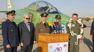 Iranian Military unveils new indigenous built jet