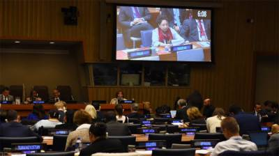 Pakistan sternly warns at the United Nations against India's aggressive actions