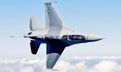 PAF F - 16 fighter jets scrambled to chase and intercept the Indian plane