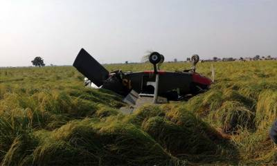 Pakistan Army Aviation trainer aircraft crashed
