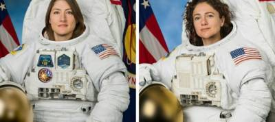 US makes history with all women space walk
