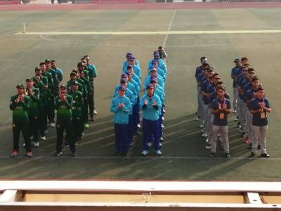 Afghanistan China mixed team defeated Pakistan China mixed team in friendly match in China