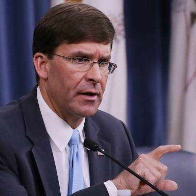 US Defence Secretary Mark Esper makes surprise unannounced visit to Afghanistan