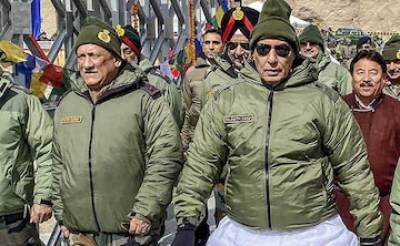 Disgruntled Indian Defence Minister Rajnath Singh yet again threaten fake strike inside Pakistan