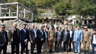 Foreign diplomatic Corps in Islamabad shocked at blatant lies of Indian Army Chief