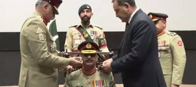 Lieutenant General Azhar Abbas installed as new Colonel Commandant of Baloch Regiment