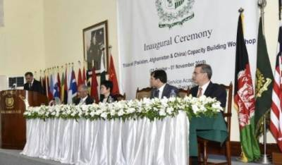 Pakistan inaugurates trilateral workshop for diplomats for Afghanistan China and Pakistan