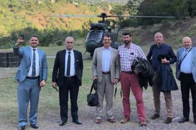 Pakistan Military takes the top diplomatic Corps to LoC and AJK for site inspection of claimed Indian strikes