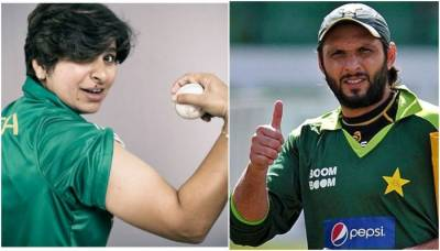 Former Skipper Shahid Afridi terms Pakistan's lady boom boom as game changer