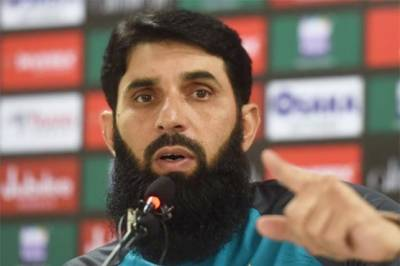 Pakistan head coach Misbahul Huq sends a clear and straight message
