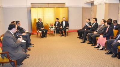 Pakistan President Arif Alvi held important meeting with Chinese Vice President in Tokyo