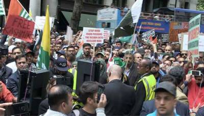 In a setback, London Police bans massive Kashmiri protests outside Indian High Commission