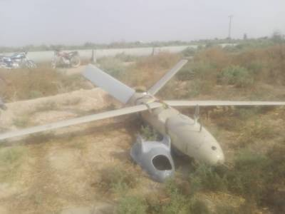 Military drone crashes while conducting maneuver: Official