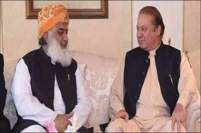 Nawaz Sharif held important discussions with Fazalur Rahman, sends important message against PM Imran Khan