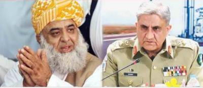 FAKE News: COAS General Qamar Javed Bajwa didn't meet Fazalur Rahman