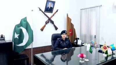 Hina Munawar PSP becomes first ever woman Commanding Officer in 106 years history of FC