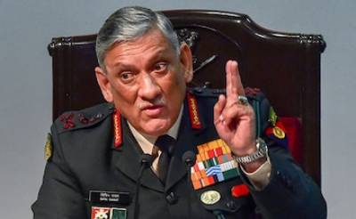 Indian Army Chief General Bipin Rawat exposed and slammed over poor professionalism