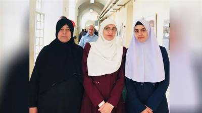 Israeli troops fear three female Palestinians who defend Al Aqsa Mosque holy site