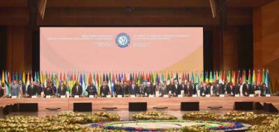 Pakistani President Dr Arif Alvi attends inaugural ceremony of 18th NAM Summit in Azerbaijan