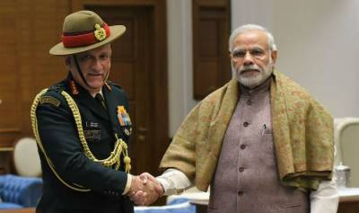 Indian Army Chief General Bipin Rawat becomes PM Modi's political pawn