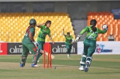 Pakistan Women beat Bangladesh Women in first T20