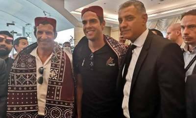 World's football legends Kaka, Figo and Puyol to arrive in Pakistan