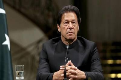 Pakistan Prime Minister Imran Khan gives a stern warning