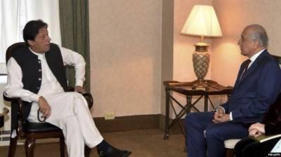 PM Imran Khan held important meeting with top US envoy Khalilzad