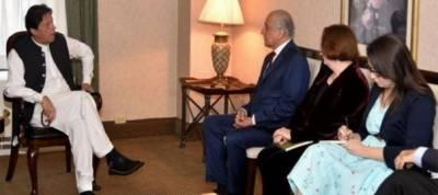 US top envoy Zalmay Khalilzad held important meeting with Pakistan PM Imran Khan