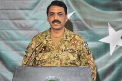 DG ISPR leaves Indian Military General Red faced