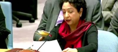 Pakistani ambassador Maleeha Lodhi blasts India at UN in her last speech