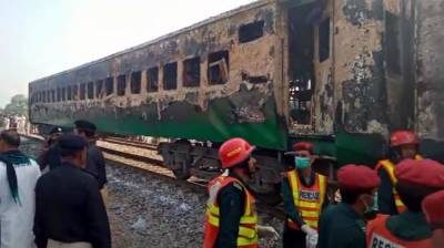 PM Imran Khan takes action over the deadly Railways accident as the death toll rise further