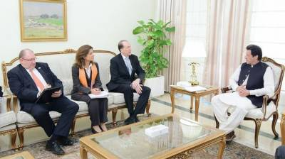 World Bank President holds important meeting with Pakistan PM Imran Khan
