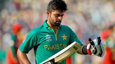 Pakistan's Ahmed Shehzad faces a worst setback