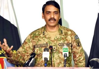 Pakistan Military DG ISPR sends a clear message to JUI - F Chief Fazalur Rahman