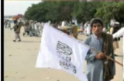 Pakistani Police crackdown against Azadi Marchers for raising Taliban flag in capital Islamabad