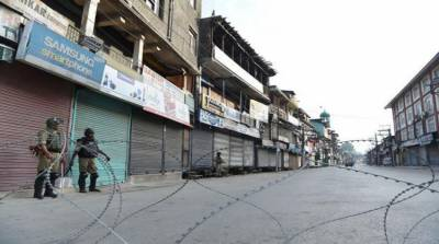 Indian Occupied Kashmir lockdown enters 91st day