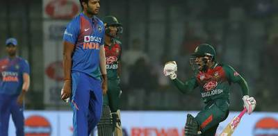 Bangladesh disgraced India in their first ever T20 win against INDIA in polluted hit New Delhi