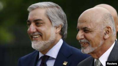 Afghan President and Chief Executive clash over new peace plan