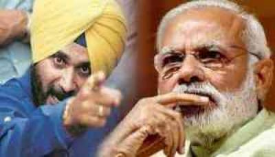 Cricketer-turned politician Navjot Singh Sidhu warns Indian government