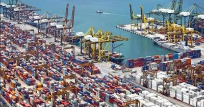 Top 10 exports destination countries for Pakistani products in the World