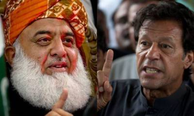 In a surprise, PM Imran Khan rejects negotiations with JUI - F Chief Fazalur Rehman